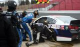 Earnhardt, Johnson join crews for live stops
