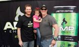 Earnhardt promotes new AMP Energy drink