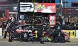 Jeff Gordon, No. 24 team at Kansas