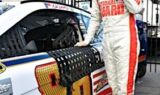 Dale Earnhardt Jr., No. 88 team at the All-Star race