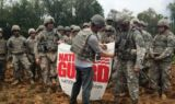 Earnhardt visits with Indiana National Guard