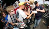 Hendrick Motorsports fans at Indianapolis