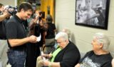 Jeff Gordon visits Charlotte, N.C., food bank