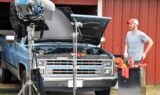 Earnhardt's Quaker State Defy shoot