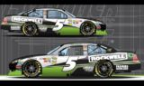 Sneak a peek at the No. 5 Rockwell Tools Chevy