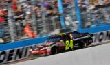 No. 24 Drive to End Hunger team at the track