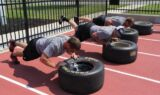 Inside pit crew heat training