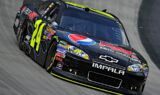 No. 24 team at Bristol Motor Speedway