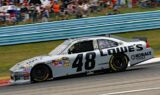 Jimmie Johnson, No. 48 team at Watkins Glen