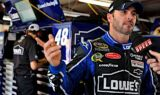 Jimmie Johnson and the No. 48 team at Michigan