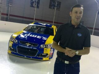 Behind the Scenes: Johnson's Darlington paint scheme