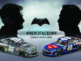 'Batman v Superman: Dawn of Justice' meets Hendrick Motorsports