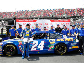 Inside Chase Elliott's Talladega pole celebration