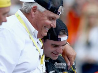 Rick Hendrick through the years