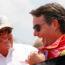Gordon couldn't wait to talk to Earnhardt following Brickyard